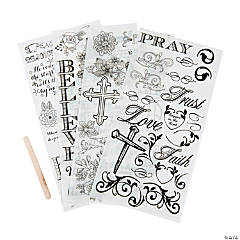 Bible Journaling Rub-Ons