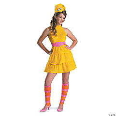 Big Bird Tween Girl's Costume
