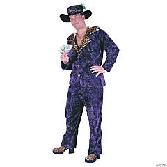 Big Daddy Purple Adult Men's Costume