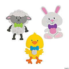 Big Head Easter Magnet Craft Kit