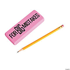 Big Mistakes Erasers