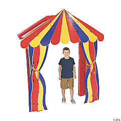 Big Top Archway Cardboard Stand-Up