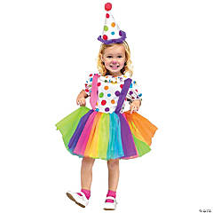 Big Top Fun Girl's Clown Costume