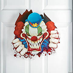 Big Top Terror Window Cling