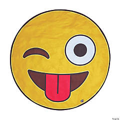 BigMouth<sup>&#174;</sup> Crazy Emoji Beach Towel