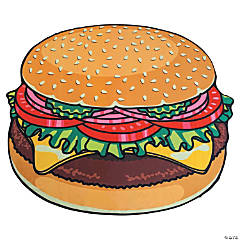 BigMouth<sup>&#174;</sup> Hamburger Beach Towel