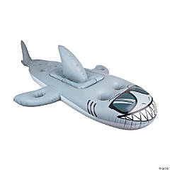 BigMouth<sup>&#174;</sup> Inflatable Shark Cooler Pool Float