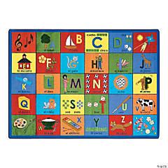 Bilingual Phonics® Classroom Rug
