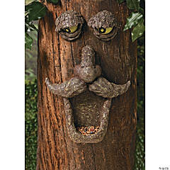 Bird Feeder Tree Face