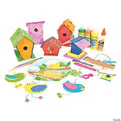 Birdhouse Craft Pack Assortment