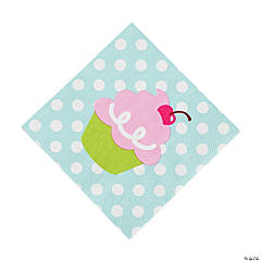 Birthday Bakery Beverage Napkins