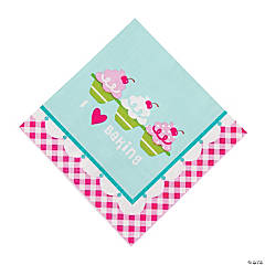 Birthday Bakery Luncheon Napkins