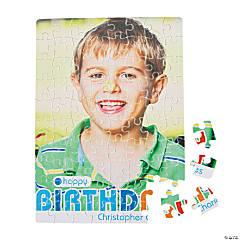 Birthday Boy Custom Photo Puzzle