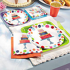 Birthday Cake Stand Party Supplies