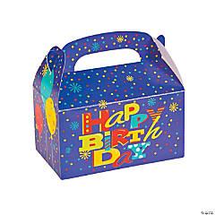 Birthday Fun Favor Boxes