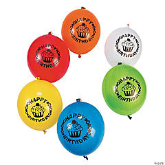 Birthday Punch Ball Balloon Assortment