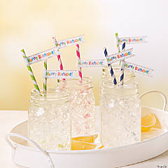 Birthday Straws Idea