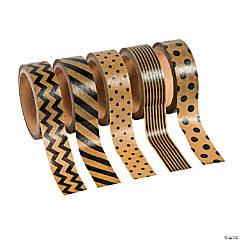 Black & Brown Paper Washi tape