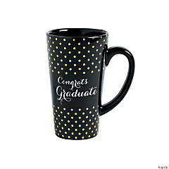 Black & Gold Graduation Mug