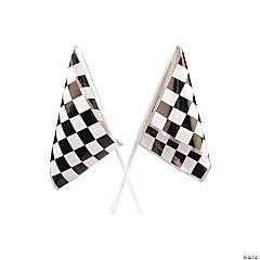 Black & White Checkered Flags