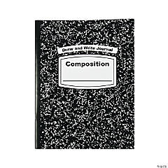 Black & White Draw & Write Composition Journals