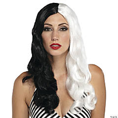 Black & White Sinestress Wig
