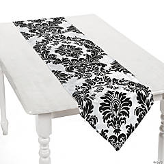 Black & White Table Runner