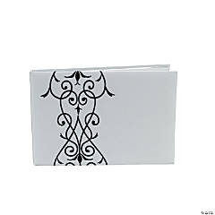 Black & White Wedding Guest Book