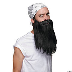 Black Basic Beard