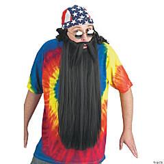 Black Beard with Mustache