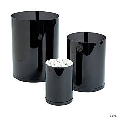 Black Candy Buffet Cylinders