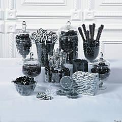 Black Candy Buffet Supplies