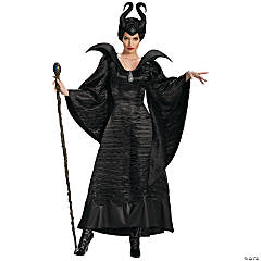 Black Christening Maleficent Costume for Women