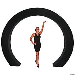 Black Circle Arch Slip