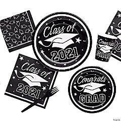 Black Class of 2016 Graduation Party Supplies