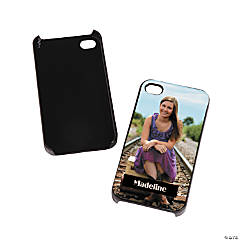 Black Custom Photo iPhone® 5 Case
