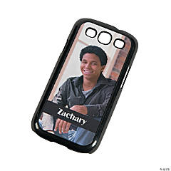 Black Custom Photo Samsung Galaxy S3 Case