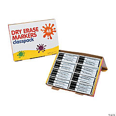 Black Dry Erase Markers Classpack