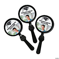 Black Graduation Custom Photo Clappers