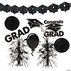Black Graduation Decorating Kit