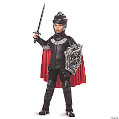 Black Knight Costume for Boys