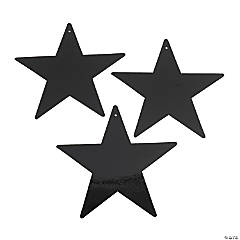 Black Large Metallic Stars
