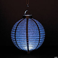 Black Light-Up Paper Lanterns