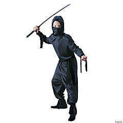 Black Ninja Costume For Boys