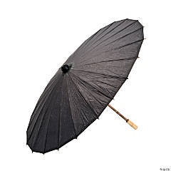 Black Paper Parasol