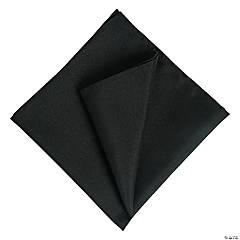 Black Polyester Linen Napkins