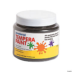 Black Powder Tempera Paint
