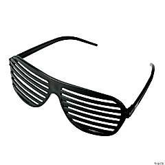 Black Shutter Glasses - 12 Pc.