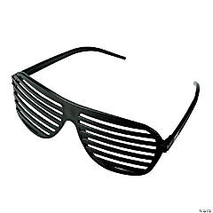 Black Shutter Shading Glasses