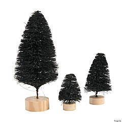 Black Sisal Tree Assortment